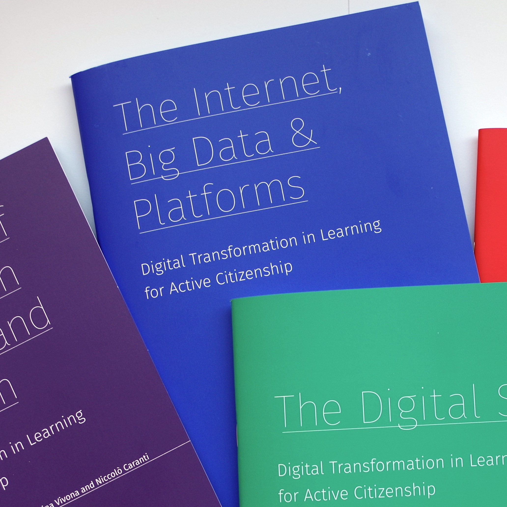 Brochures: DIGIT-AL Digital Transformation in Learning for Active Citizenship